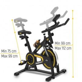 Progressive Bicicleta de spinning Sx2000