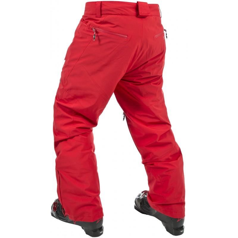 Trespass Pantaloni ski barbati rankin red