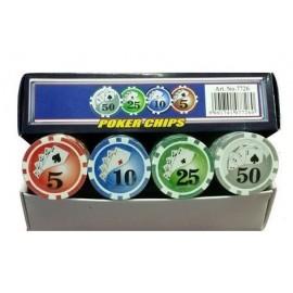 Spartan sport jetoane (chips) poker