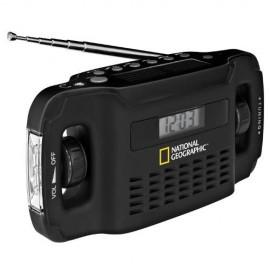 National Geographic Radio Solar cu Incarcator