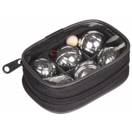Sport season joc petanque mini 6 bile metal, diametru 32.8 mm