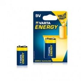 Baterie Alcalina 9V Varta Energy - Blister 1 buc.
