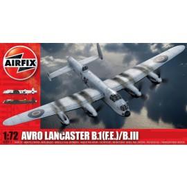Airfix kit aeromodele airfix 8013 avion avro lancaster bi(f.e.)/biii scara 1:72