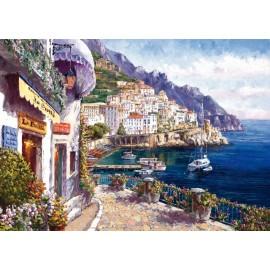 Puzzle Dupa-amiaza in Amalfi 2000 piese