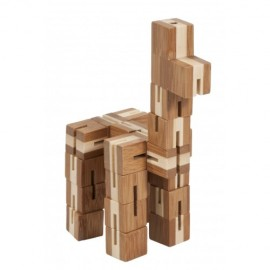 Fridolin Joc logic puzzle 3D din bambus Flexi-cub 2