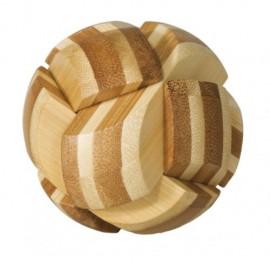 Fridolin Joc logic IQ din lemn bambus Ball