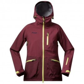 Geaca de ski bergans myrkdalen insulated lady - bordo-m