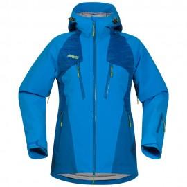 Geaca de ski bergans oppdal insulated lady - albastru-xs
