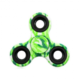 Fidget Spinner camuflaj - verde