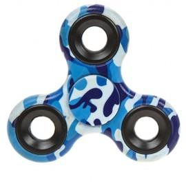 Fidget Spinner camuflaj - albastru