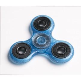 Fidget Spinner cu sclipici - albastru