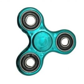 Fidget Spinner metalic look - turquoise