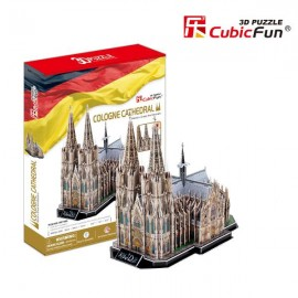 Cubicfun PUZZLE 3D - DOMUL DIN KOLN