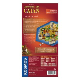 Kosmos colonistii din catan - extensie 5/6 jucatori