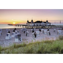 Ravensburger puzzle marea baltica ahlbeck, usedom 1000 piese