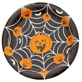 Farfurii 18 cm halloween, 52562, set 8 bucati