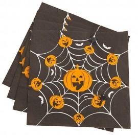 Servetele de masa pentru halloween - 33 x 33 cm, 3 straturi, 52564, set 16 bucati