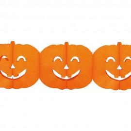 Ghirlanda dovleci halloween - 4 m x 18 cm, 54392