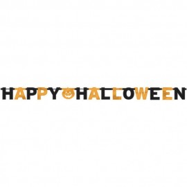 Banner decorativ happy halloween - amscan 129470, 1 buc