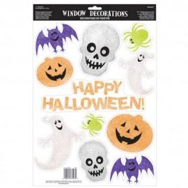 Stickere decorative halloween pentru geam - amscan 210806