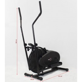SPORTMANN Bicicleta eliptica Hiton 17R-negru