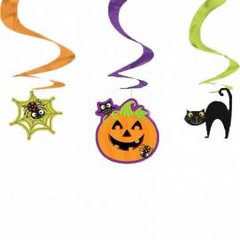 Serpentine decorative pentru halloween - 45.7 cm, radar 677415, set 3 bucati