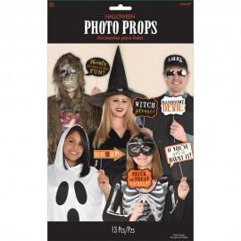 Accesorii foto party halloween, radar 3900184, set 13 buc