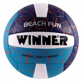 Winart minge volei winner beach fun - pentru plaja-nisip