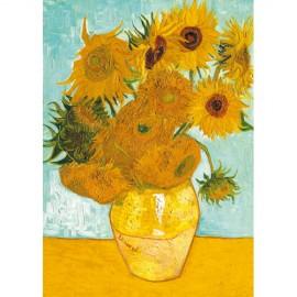 Ravensburger puzzle van gogh - vaza cu flori, 1000 piese