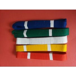 Spartan sport centura karate / judo, diverse culori