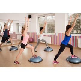 Spartan sport minge bosu pentru echilibru (balance trainer) - cu extensoare