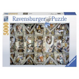 Ravensburger puzzle capela sixtina, 5000 piese